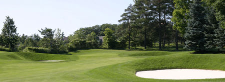 Overview of golf course named Maple Downs Golf and Country Club