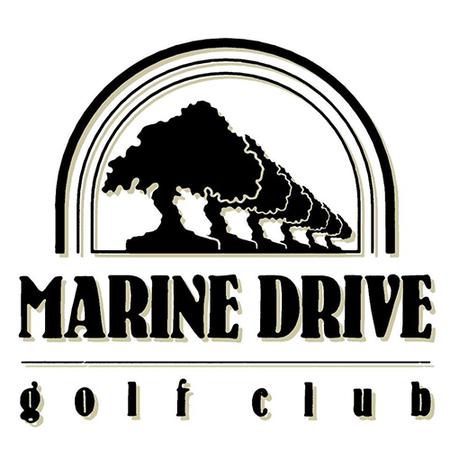 Logo of golf course named Marine Drive Golf Club