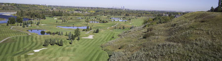 Overview of golf course named Mckenzie Meadows Golf Club