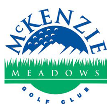 Logo of golf course named Mckenzie Meadows Golf Club