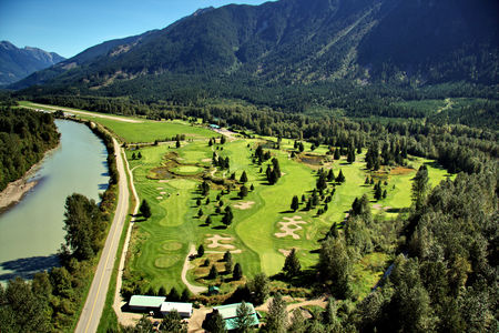 Overview of golf course named Meadows at Pemberton