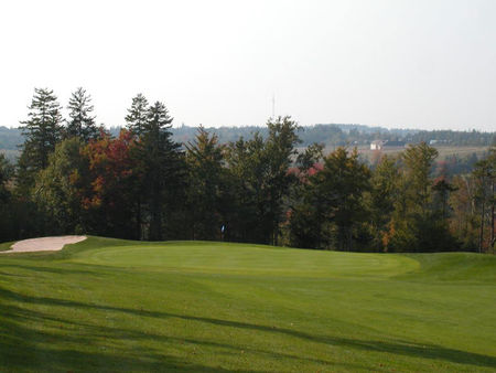 Mountain golf club cover picture
