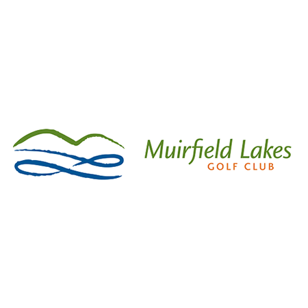 Logo of golf course named Muirfield Lakes Golf Club