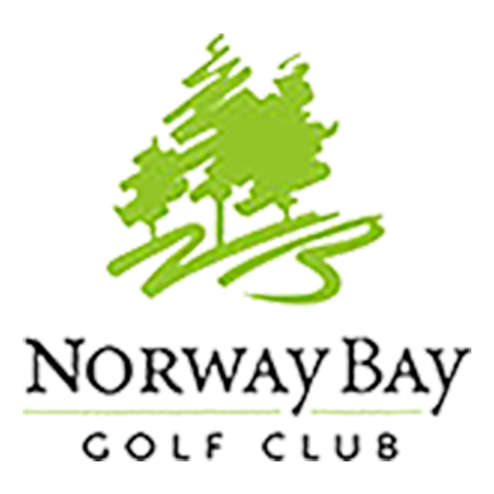 Logo of golf course named Norway Bay Golf Club