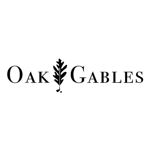 Logo of golf course named Oak Gables Golf Club
