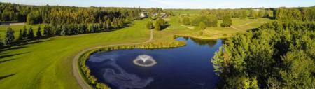 Overview of golf course named Ponoka Community Golf Club