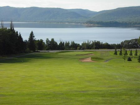 Overview of golf course named Restigouche Golf and Country Club