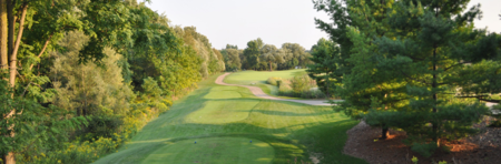 Overview of golf course named River Edge Golf Club