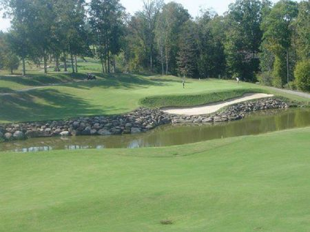 Overview of golf course named River Ridge Golf and Country Club