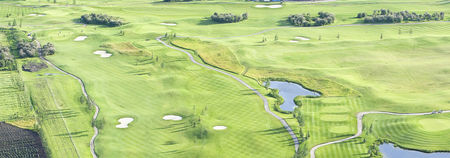 Overview of golf course named River Spirit Golf Club