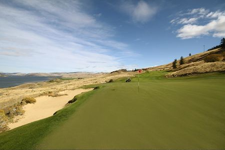 Overview of golf course named Sagebrush Golf