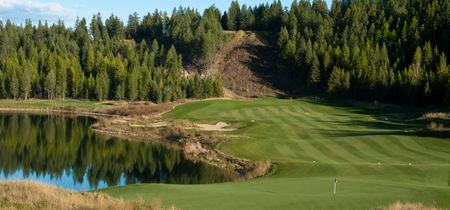 Overview of golf course named Shadow Mountain Golf