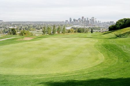 Shaganappi point golf course cover picture