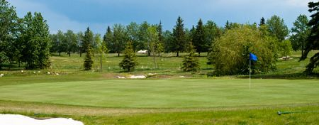 Overview of golf course named Sherwood Park Golf Course