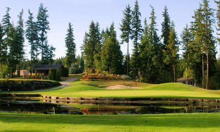 Overview of golf course named Shuswap Lake Estates Golf Club