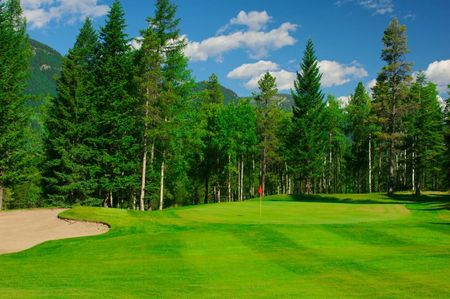 Overview of golf course named Sparwood Golf Club