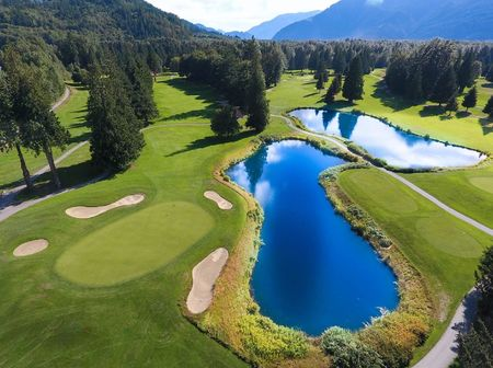Overview of golf course named Squamish Valley Golf and Country Club