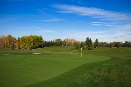 Overview of golf course named Sundre Golf Club