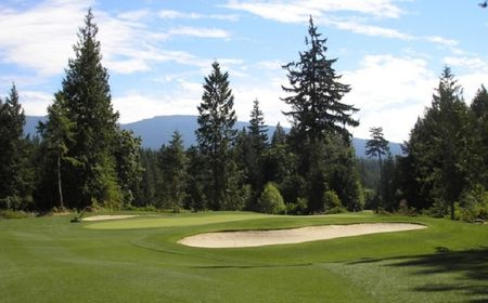 Overview of golf course named Sunshine Coast Golf and Country Club