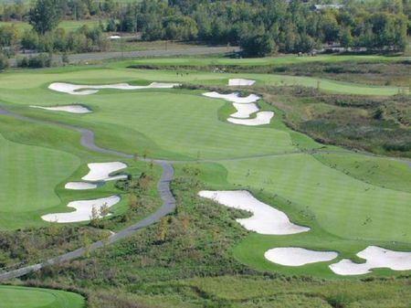 Overview of golf course named The Marshes Golf Club