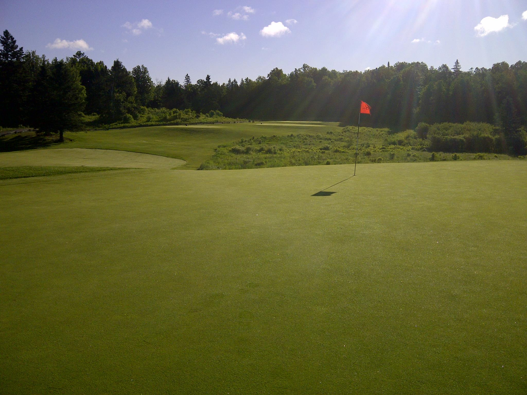 Overview of golf course named The Ridge at Manitou Golf Club