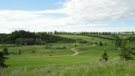 Overview of golf course named Trochu Golf and Country Club
