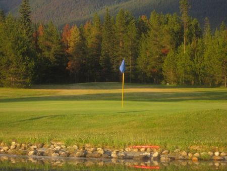 Overview of golf course named Valemount Pines Golf and Country Club