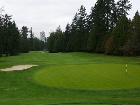 Overview of golf course named Vancouver Golf Club