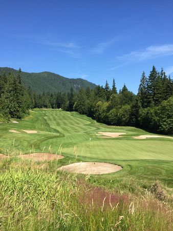 Overview of golf course named Westwood Plateau