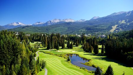 Whistler Golf Club Cover