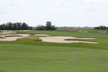 Whitetail crossing golf club cover picture