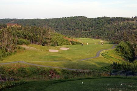 Overview of golf course named Wilds at Salmonier River Golf Club