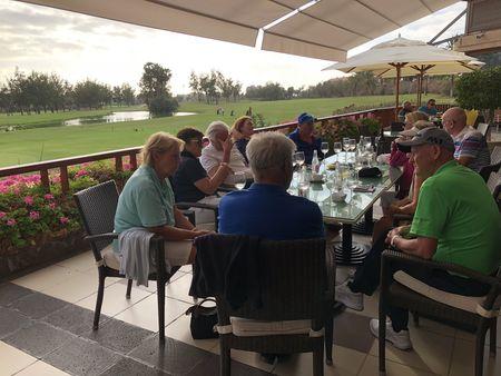 Golf las americas david cardew checkin picture