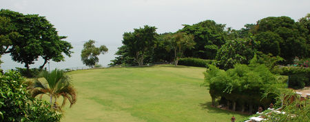 Overview of golf course named Asia Pattaya Hotel