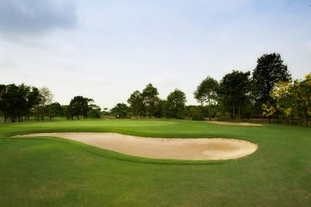Overview of golf course named Krung Kavee Golf Course and Country Club Estate