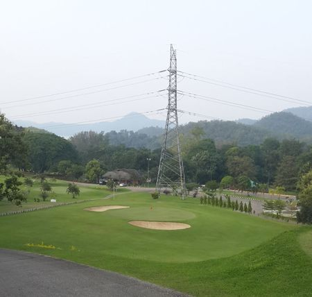 Overview of golf course named Mae Kok Golf Course
