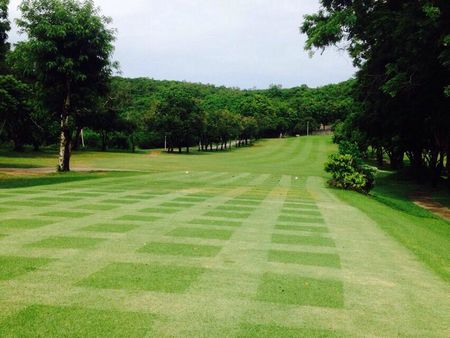 Plutaluang royal thai navy golf course cover picture