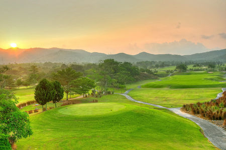 Overview of golf course named Rayong Green Valley Country Club
