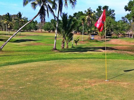Overview of golf course named The Beach Golf Club at Novotel Chumphon