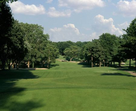 Overview of golf course named Cedar Ridge Country Club