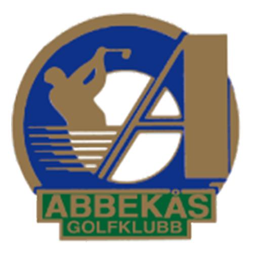 Logo of golf course named Abbekas Golfklubb