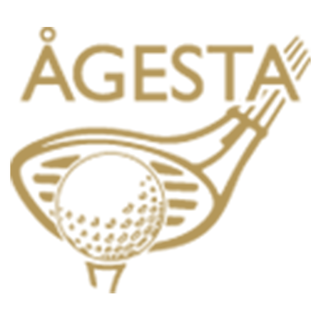 Logo of golf course named Agesta Golfklubb