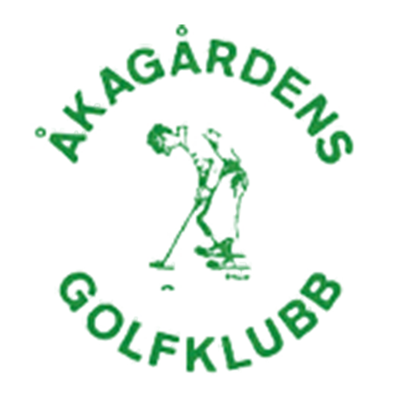 Logo of golf course named Akagardens Golfklubb