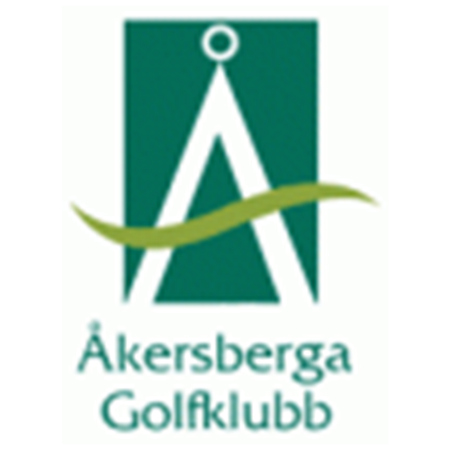 Logo of golf course named Akersberga Golfklubb