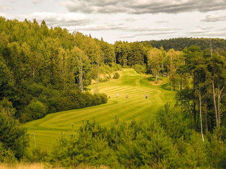 Overview of golf course named Albatross Golfklubb