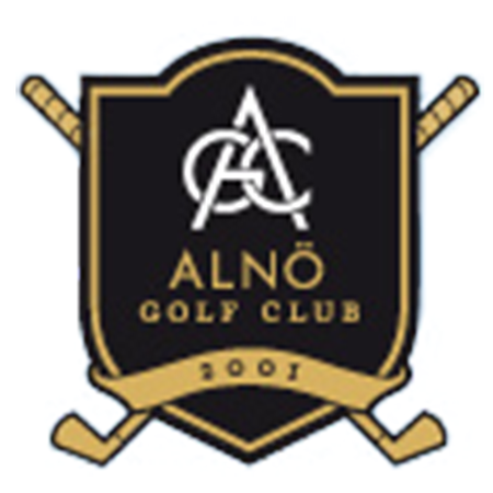 Logo of golf course named Alno Golf Club