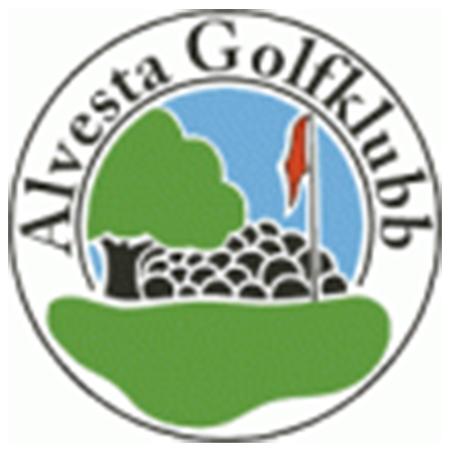 Logo of golf course named Alvesta Golfklubb