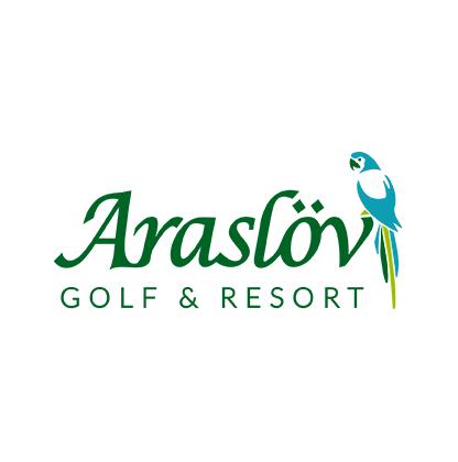 Logo of golf course named Araslovs Golfklubb