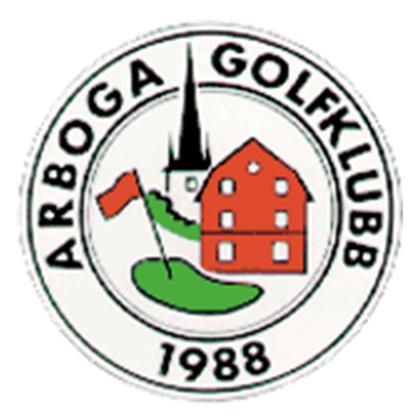 Logo of golf course named Arboga Golfklubb