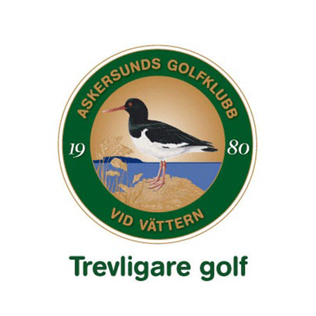 Logo of golf course named Askersunds Golfklubb